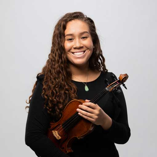 Headshot for CSO musician Alexis Shambley