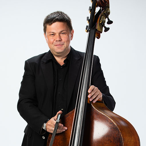 Headshot of bassist Boris Astafiev