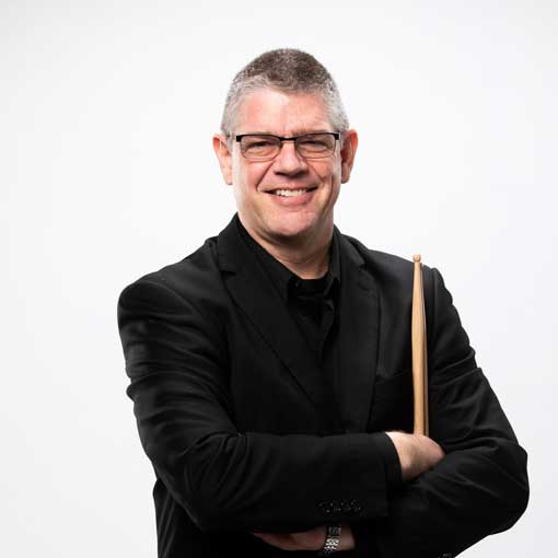 Headshot for CSO musician David Fishlock