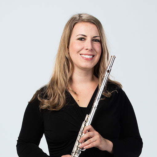 Headshot of flutist Haley Bangs
