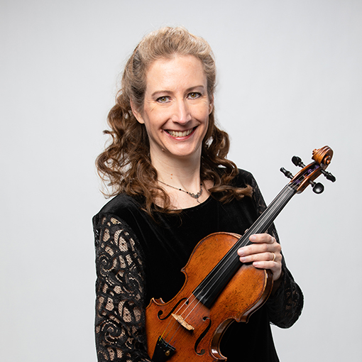 Headshot for CSO musician Kathryn Woolley
