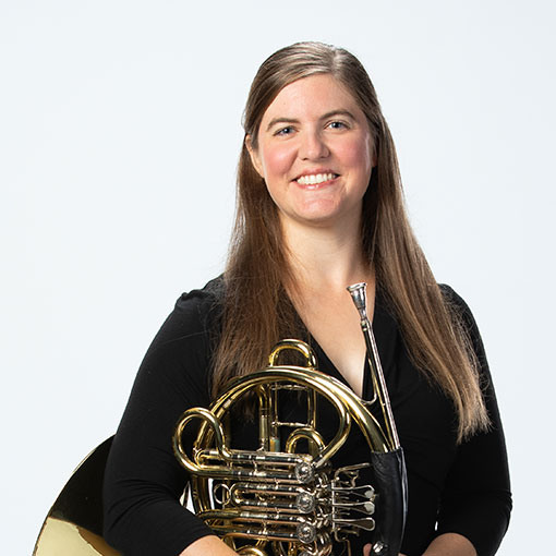 Headshot of French Horn musician Molly Norcross