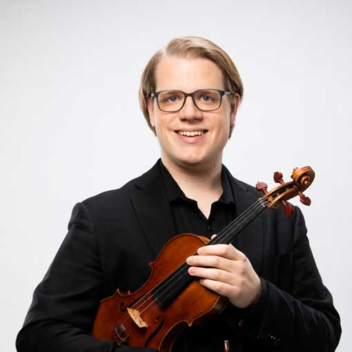 Headshot for CSO musician Philip Marten