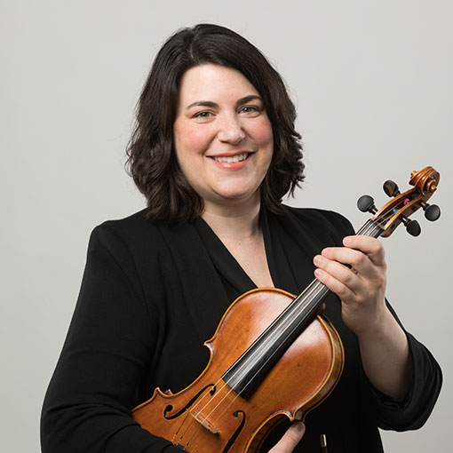 Headshot for CSO musician Rachel Charbel