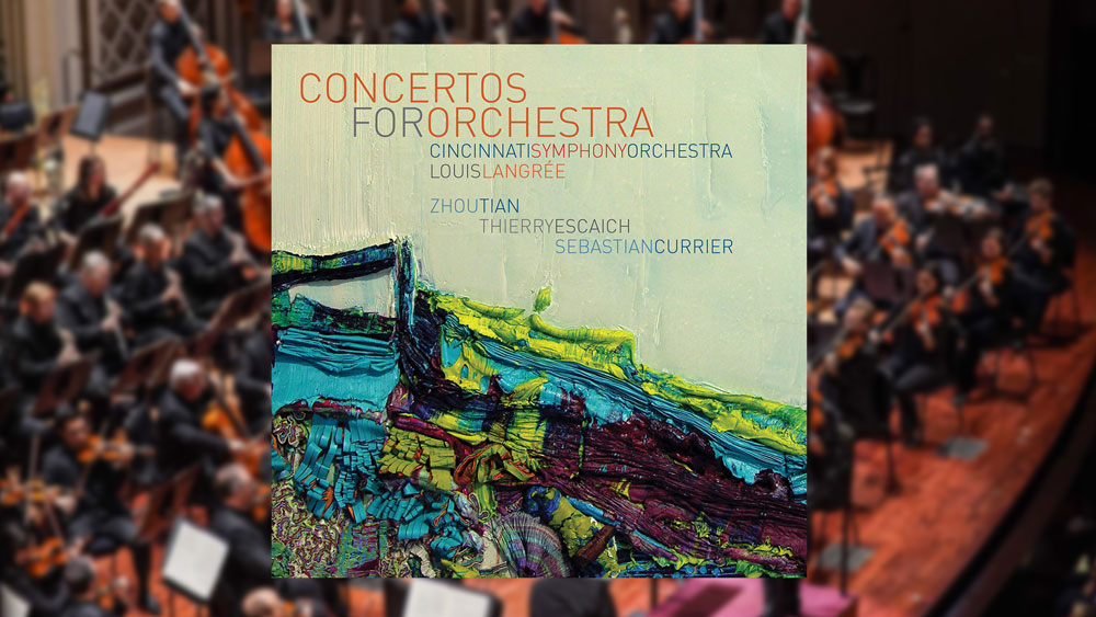 Concertos for Orchestra album cover