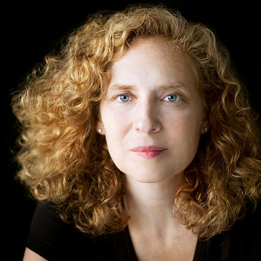 Head shot of composer Julia Wolfe