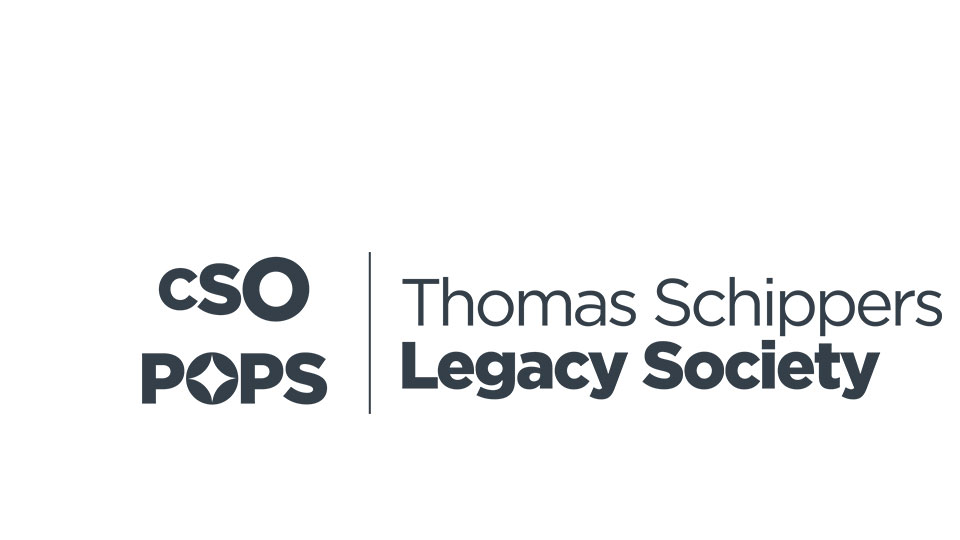 The Thomas Schippers Society logo in text