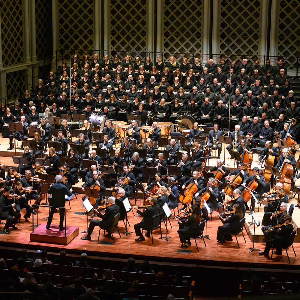 Louis Langrée, the CSO and May Festival perform