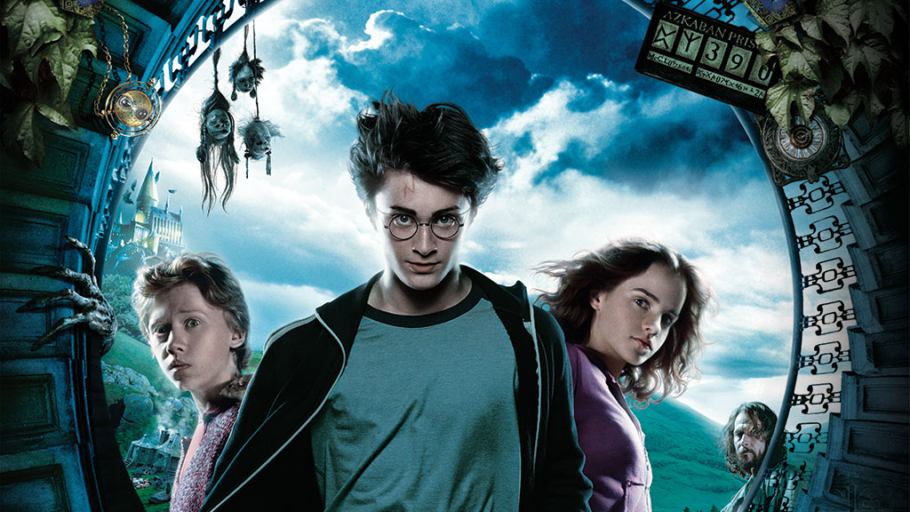 Film poster for Harry Potter and the Prisoner of Azkaban