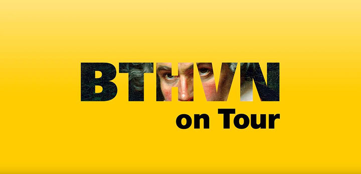 Beethoven on Tour exhibit logo
